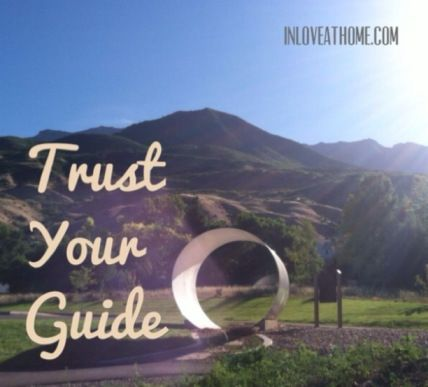 trust your guide